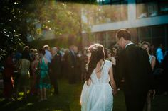 Natalie in our GENEVIEVE gown   Grace Loves Lace