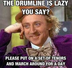 Drumline, marching band