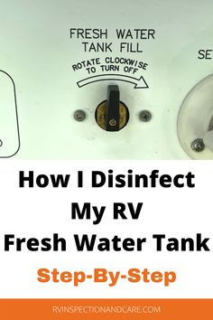 One of the most important maintenance operations that you can perform is to disinfect your RV's fresh water tank on a regular basis. But why does this have to be done? How often should you do it? And how do you do it? Well, here in this video is how I disinfect my own RV fresh water tank. And I demonstrate it in a step-by-step fashion. Don't miss it! #rvmaintenance #rvtips #rvhacks Camping Tips, Tent Camping, Rv Mods, Diy Projects Cans, Diy Rv, Fresh Water Tank, Rv Hacks, Class B, Rv Travel