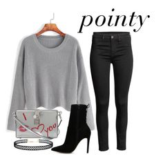 """""""#peace grey family dinner"""" by cupcake7 on Polyvore featuring Mode, WithChic, ALDO, Dolce&Gabbana und LULUS"""