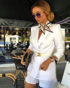"""Made in Moscow on Instagram: """"Наша идеальная линейка костюмов ❤️ можно приобрести как с шортами, так и с брюками ❤️ в шортах- на свидание, в брюках- в офис ❤️ идеально…"""" Mode Outfits, Fashion Outfits, Womens Fashion, Ladies Outfits, Hijab Fashion, Latest Fashion, Fashion Ideas, Fashion Trends, Classy Outfits"""