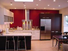 Kitchen + Bath Artisans - Portfolio  modern kitchen stainless with contrast color cupboards
