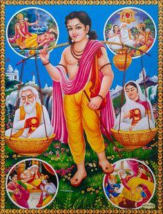 Shravan Kumar and the stories from Ramayana (Reprint on Glazed Paper - Unframed) Hanuman Wallpaper, Radha Krishna Wallpaper, Ganesha Art, Krishna Art, Radhe Krishna, Cute Paintings, Indian Art Paintings, Moral Stories In Hindi, Lord Rama Images