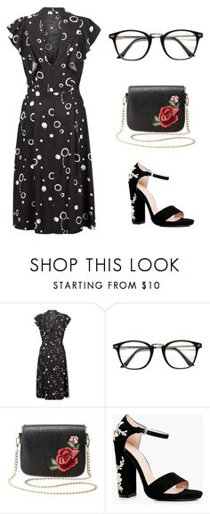 """""""Untitled #164"""" by destinee-miller15 ❤ liked on Polyvore featuring Charlotte Russe and Boohoo"""
