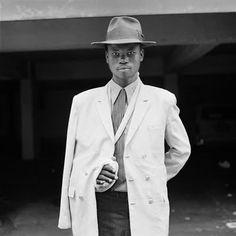 "David Goldblatt ""Man with an injured arm. June, Black-and-white photograph on matte paper 1972"