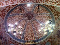 Interior de l'ermita de Santa Marina