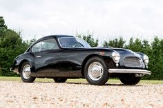 Forget that it's one of only ten Ferarris with Stabilimenti Farina bodywork - this Ferrari 166 Inter Coupe is just the 11th road car Ferrari ever built, period. Built in 1949, Chassis #021 S (Maranello only used odd chassis numbers)...