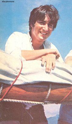 the best photo of the 'real' John Lennon I've ever seen.