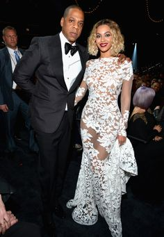 Beyoncé Changes From Bodysuit Into Equally Sexy Peek-A-Boo Dress At The Grammys (PHOTOS)