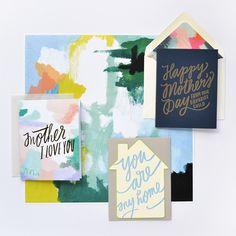 Beautiful handwritten cards