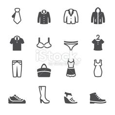 Soulico - Clothing vector icons