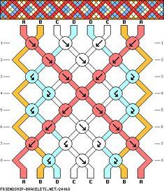 #24068 - friendship-bracelets.net Strings: 8 Rows: 8 Colors: 4