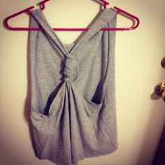 Made a racerback tank out of an old t-shirt, this website made it so easy!!! http://chewynoodles.blogspot.com/2011/06/diy-racerback-tank-top-tutorial.html