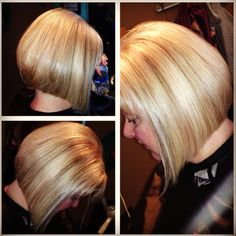Blonde bob #hairbyjesi