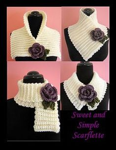 New Free Crochet cowl flower Suggestions PLEASE NOTE: This listing is for a PDF crochet pattern which can be used to make the pictured cape, Col Crochet, All Free Crochet, Crochet Basics, Easy Crochet Patterns, Crochet Shawl, Crochet Stitches, Crochet Hooks, Knitting Patterns, Scarf Patterns