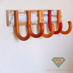 Schroot-Hoop Design (Scrap Heap) umbrella handle upcycle