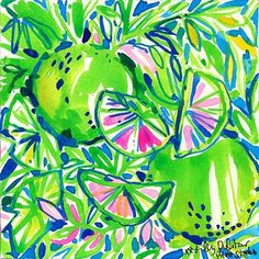 Lime of the party. #lilly5x5
