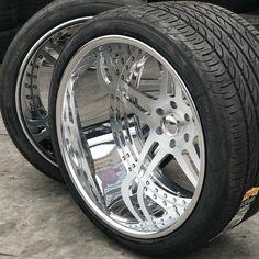 chevy intro wheels 6 lug split 5 star brushed super deep lip wheels love these Weld Wheels, Wheels And Tires, Car Wheels, Nissan Pickup Truck, Honda Accord, Truck Rims, Car Rims, Rims For Cars, Rims For Trucks