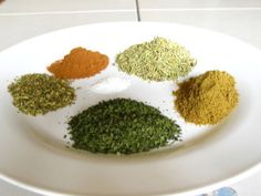 Spice Mix Mediterranean Spice Mix from : Sprinkle dry on new baby potatoes, meat or mix into a rub.Mediterranean Spice Mix from : Sprinkle dry on new baby potatoes, meat or mix into a rub. Mediterranean Seasoning, Mediterranean Spices, Mediterranean Diet Recipes, Homemade Spices, Homemade Seasonings, Spice Blends, Spice Mixes, Spice Rub, Curry