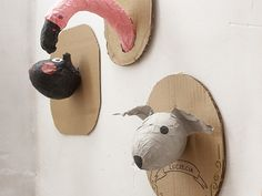 Cabezas de animales / Animal heads / Tierköpfe