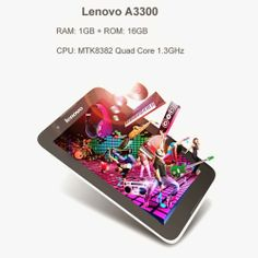 Welcome to funkycomputerstuff.com: Lenovo A3300 16GB White, 7.0 inch Android 4.2 Tabl...
