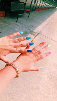 Are you willing to try the most fashionable nail art? Simple Acrylic Nails, Best Acrylic Nails, Summer Acrylic Nails, Aycrlic Nails, Hot Nails, Hair And Nails, Nail Manicure, Manicures, Music Nails