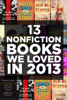 13 Works Of Nonfiction And Memoir That We Loved In 2013