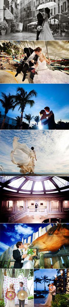 30 Stunning Destination Wedding & Engagement Photos - North America