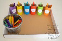 PROPUESTA DE ACTIVIDAD MATEMÁTICA: APRENDEMOS A CLASIFICAR POR COLORES (2) » Actividades infantil
