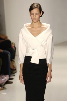 DONNA KARAN SS 2006-Had a similar blouse in the seventies. Still love it!