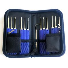 lockpicking 3 adjustable tubular lock open tool unlocking locksmith crochetage !