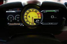 Ferrari LaFerrari instrument cluster