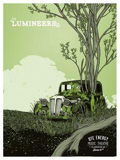 Lumineers - DTE Energy — Erica Williams Illustration + Design