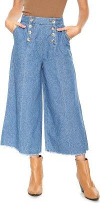 Similar products - Calça Lov.it Pantacourt Jeans - Lov. It