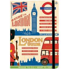 Plan, jot and find your way through London Town with this handy book featuring…