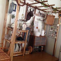 mippoko345さんの、ダルトンスケール,鉄瓶,スタジオM,ニトリ,ダイソー,セリア,salut!,ナチュラルキッチン,DIY棚,手作りパーゴラ,Kitchen,のお部屋写真