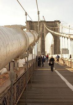 Great walk! Brooklyn Bridge. #nyc