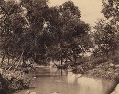Little Wills Creek in the vicinity of Fort Payne, Alabama ca. 1880-1889 by O. W. Chase (Alabama Department of Archives and History)