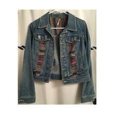 ↠Free People Serape Denim Jacket↞ ↠Free People Serape Denim Jacket↞  Size 6. Fits like a medium  No Trades, PayPal, lowballing[p35] Free People Jackets & Coats Jean Jackets