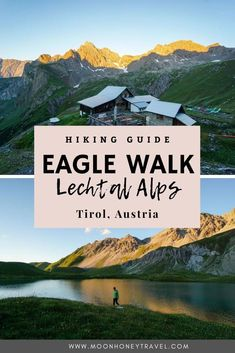 A comprehensive guide to trekking across the Lechtal Alps along the Eagle Walk in Tirol, Austria. We've outlined Eagle Walk Stages 19-24 in detail, so that you can experience one of the most beautiful places in Austria on foot. #austria #eaglewalk #lechtalalps #lechtaleralpen #tirol #tyrol #eaglewalkaustria #trekking #hiking #longdistancehiking #thruhiking #besthikingtrails #besttreks #europehiking Hiking Guide, Hiking Trails, Travel Guide, Amazing Destinations, Travel Destinations, Hiking Europe, Austria Travel, Adventure Activities, Koh Tao