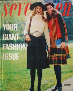 Seventeen magazine August 1970.  I always loved the back to school issue.
