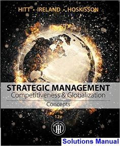 13 best business human resources images on pinterest resource strategic management concepts and cases competitiveness and globalization 12th edition hitt solutions manual test bank fandeluxe Gallery
