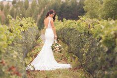 Brides And Bridesmaids, Real Weddings, Bouquet, Wedding Dresses, Vineyard, Beautiful, Fashion, Bride Dresses, Moda