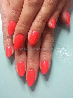 Red hot crimson gel polish