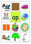 Cvc Words - Phonics Word Families - 200 Consonant Vowel Consonant Word Family Cards - K-3 Teacher Resources