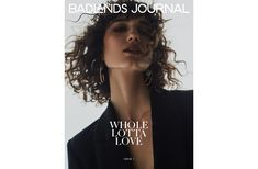 BADLANDS JOURNAL - ISSUE 1 Whole Lotta Love, Editorial, One Shoulder, Journal, Cover, Fashion, Moda, La Mode, Journal Entries