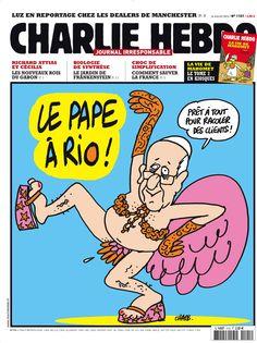 La Une de la semaine du 24 juillet 2013 | Charlie Hebdo par Charb