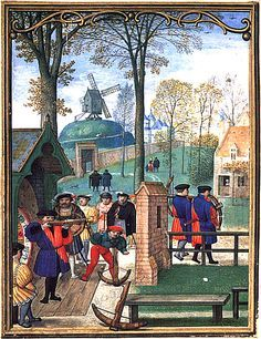 Simon Bening - November - from the Hennessy Book of Hours -