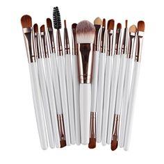 CINEEN Pro Makeup Brush Set 20 pcs Make up Brushes for Real Makeup Technique Face Powder Foundation Eyebrow Eyeshadow Eyeliner Lip Brush Toiletry Tools Kit