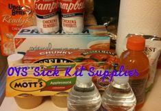 Sick Kit Supplies